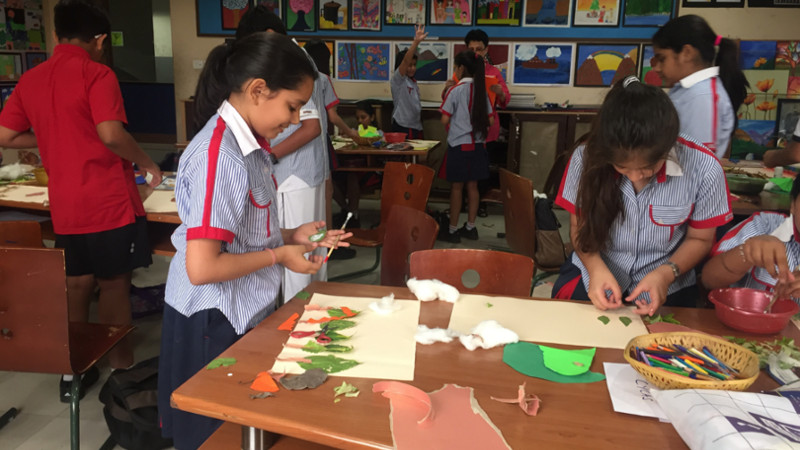 Inter-house Collage-making Competition-'fun With Odds And