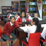 Inter-disciplinary session for pupils of Grade 6 Visual Arts with the Dean of Libraries 2