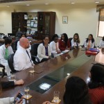 GDGWS Visit by Head of Wasatch Academy12